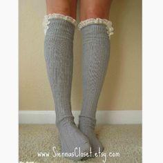 boot socks...or lounge socks <3