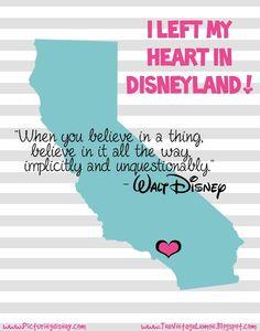 Picturing Disney: Free Disneyland & Disney World Art Print-ables!