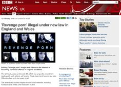 BBC News - 'Revenge porn' illegal under new law in England and Wales