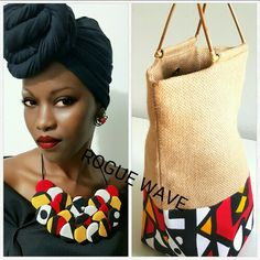 Samakaka, African print accessories by Rogue Wave