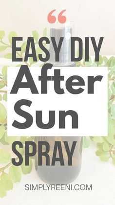 After a long day in the sun, it's nice to have an all-natural spray to help you unwind and cool off. That's why I'm sharing a favorite DIY after sun spray that you can use as needed! Get the recipe today! #essentialoils #aftersunessentialoils #aftersuncare #aftersunspray #aftersun #aftersunsprayessentialoils #doterra #youngliving