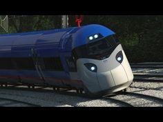 Pregopontocom Tudo: Amtrak trocará as composições Acela Express por uma nova frota de TAVs da Alstom com sistema Tiltronix...
