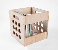 Deluxe Maple Record Box Kit