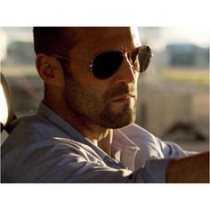 1c97a1120e Jason Statham as Lee Christmas wore the classic aviator sunglasses from  Ray-Ban in action movie Expendables Check out the exact frame and lens he  wore