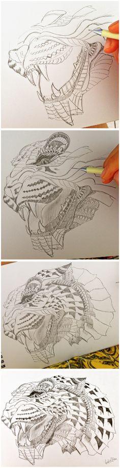 Steps to draw