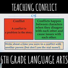 Teaching External Conflict — Language Arts Teachers http://languageartsteachers.com/conflict/ www.languageartsteaches.com/conflict