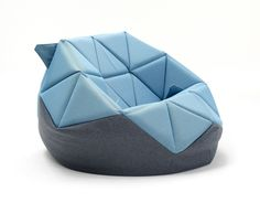 bean bag chair - Antoinette Bader