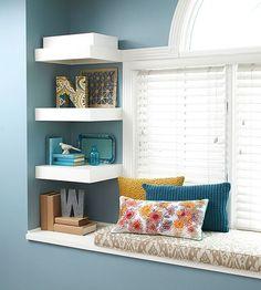 Make a Window Seat Cozy