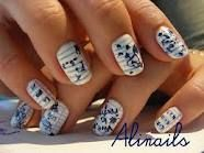 Nail art. It's time to go back to school !