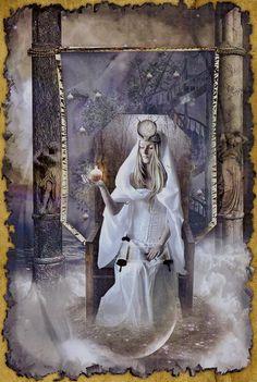 The High Priestess The Mystic Dreamer Tarot