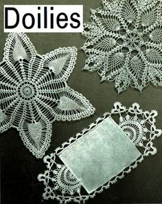 Items similar to PDF Vintage Doily Crochet Pattern COATS Irish Pineapple Crochet Home Decor Lacy Shamrock, Star, Heirloom, Victoriana, Keepsake on Etsy Thread Crochet, Crochet Motif, Irish Crochet, Crochet Doilies, Knit Crochet, Crochet Style, Pineapple Crochet, Crochet Home Decor