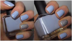 Icy winter mani from In Her Makeup Bag.