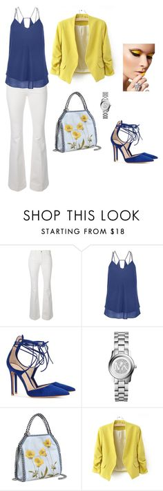 """""""Casual Chic"""" by yellowbrickrd ❤ liked on Polyvore featuring STELLA McCARTNEY, Gianvito Rossi, Michael Kors and Beautiful People"""