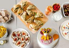 Brunch Menus for Baby Showers