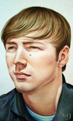 Portrait of Joey Zadwarny by Mary Jones Easley