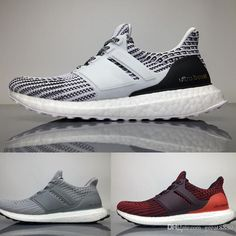 finest selection 82bd4 55614 Wholesale cheap running shoes brand -factory direct sale ultra boots 4.0 triple  black white women men running shoes oreo cny blue grey sports sneaker ...
