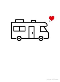 The perfect design for camper & RV lovers! Where Is Your Heart, Pleasure Way, Class B, Love S, Rv, Camper, Letters, Ideas, Design