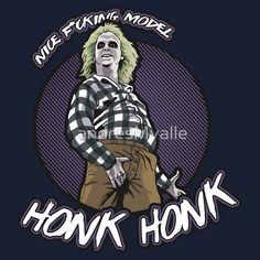 Beetlejuice Honk-Honk by Andriu - Get Free Worldwide Shipping! Arte Horror, Horror Art, Horror Movies, Juice Movie, Tim Burton Characters, Nerd, Michael Keaton, Great Movies, Movies Showing