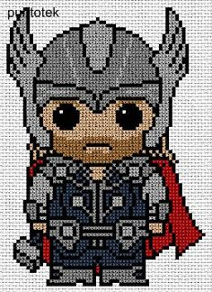 Brilliant Cross Stitch Embroidery Tips Ideas. Mesmerizing Cross Stitch Embroidery Tips Ideas. Marvel Cross Stitch, Geek Cross Stitch, Beaded Cross Stitch, Cross Stitch Charts, Cross Stitch Designs, Cross Stitch Embroidery, Cross Stitch Patterns, Bead Patterns, Plastic Canvas Crafts