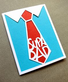 mmmcrafts: hand cut father's day card