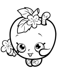 apple blossom shopkin mlarbok shopkins coloring pages free printable shopkin coloring pages apple coloring