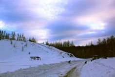 Fort Liard gravel pit, to the east of town Gravel Pit, Northwest Territories, North West, Canada, Mountains, Nature, Travel, Outdoor, Image