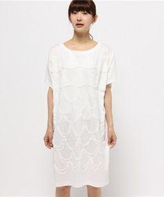 シェルスカラップT(ワンピース) TSUMORI CHISATO(ツモリチサト)のファッション通販 - ZOZOTOWN