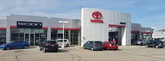 Andrew Toyota Scion is located in Milwaukee, WI just 4 blocks west of I-43