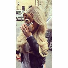 Love her hair Shirin David Style, Hairstyles Haircuts, Cool Hairstyles, Beautiful Hairstyles, Hair Inspo, Hair Inspiration, Blonde Hair Makeup, Corte Y Color, Girly