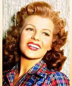 Beautiful Rita Hayworth <3
