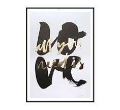 The Minimalist x all you need is love / limited edition print