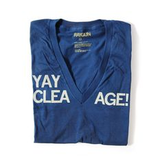 """The """"Yay Cleavage!"""" T-Shirt"""