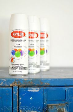 How To Spray Paint Furniture with Krylon