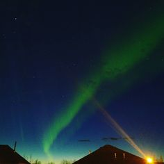 The view from my upper deck tonight at sunset. At times the Aurora were so active bright and breathtaking I couldn't tear my eyes away. Sorry for phone photos and street lights blowing out my lens! Had to share . #auroraborealis #aurora #notherngirls #alberta #lovemylife #inspired #lifeisart #vapelife