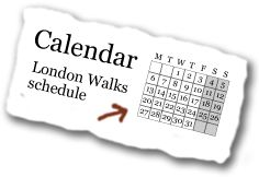 London Walks - daily walks through areas of London