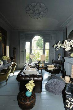 Living room by Abigail Ahern.