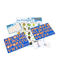 Look what I found on #zulily! Teach My Toddler: The Alphabet Set by Teach My #zulilyfinds