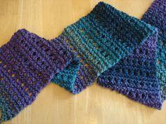 Tweedy Eyelet Scarf (Free Knitting Pattern)