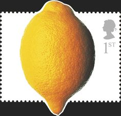 Royal Mail Special Stamps   Fun Fruit & Veg. Royal Mail DIY Stamps Lemon Royal Mail Stamps, Uk Stamps, Postage Stamps, Fruit And Veg, Fun Fruit, Best Fruits, Stamp Collecting, Bunt, Vivid Colors