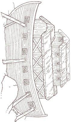 Jan Brett...Free On Noah's Ark - Ark Coloring Page