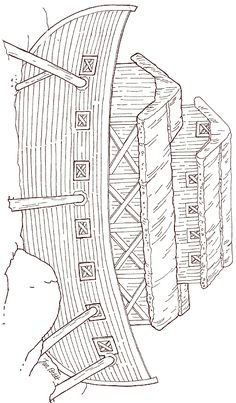 Jan Brett...Free On Noah's Ark - Ark Coloring Page