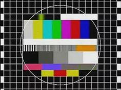 """2. """"Untitled""""  A test card is a television test signal, typically broadcast at times when the transmitter is active but no program is shown –often…"""
