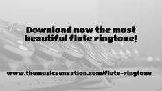 Best Flute Ringtone For Phones[Wind Instrument Music For Your Soul] Music Websites, Music Production, Flute, Good Music, Heaven, Songs, Sky, Heavens, Flutes