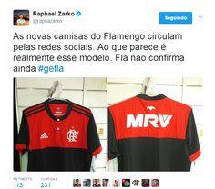 Suposta nova camisa do Flamengo circula nas redes sociais