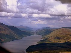 The Great Glen - aerial