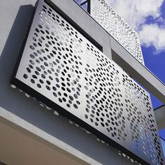 """FabriLAB on Instagram: """"Privacy screens. Made with care and precision to suit your needs."""" Privacy Screens, Deco, Suits You, Skyscraper, Multi Story Building, Exterior, Landscape, Instagram, Design"""
