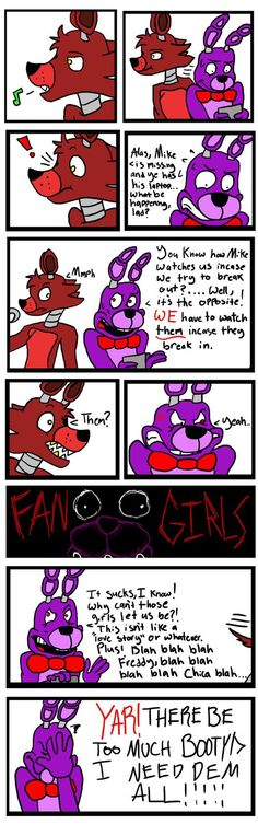 5 Nights at Fangurls Fangurling over Foxy XD by Jamming-the-Jam on deviantART