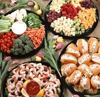 Reception Food Tables | ... some reasons why your should chose a wedding finger food reception