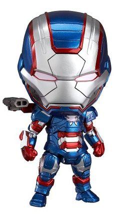 Good Smile Iron Man 3: Iron Patriot: Hero's Edition Nendo…