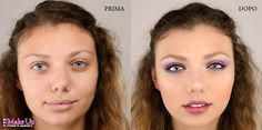Make up correttivo - prima e dopo